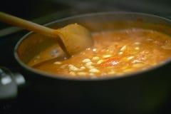 Pot de soupe Image libre de droits