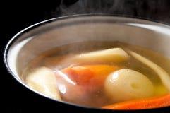 Pot de soupe images libres de droits