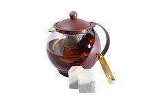 Pot de thé Photo libre de droits
