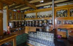 Pot de thé de Ladakhi Photo stock