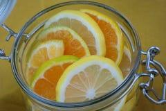 Pot de vitamine Photo libre de droits