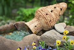 POT decorativo del giardino Fotografia Stock Libera da Diritti
