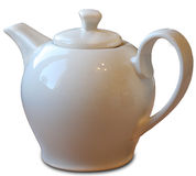 POT del tè Immagini Stock