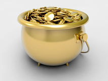 POT dell'oro illustrazione vettoriale