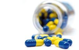 POT delle pillole Fotografia Stock