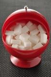 POT dello zucchero Immagini Stock Libere da Diritti