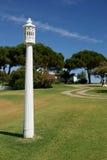 POT di camino tipico da Algarve Fotografie Stock Libere da Diritti