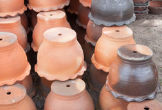 POT di ceramica Immagine Stock