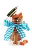 Pot dog bones Royalty Free Stock Images