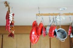 POT e vaschette. Fotografia Stock
