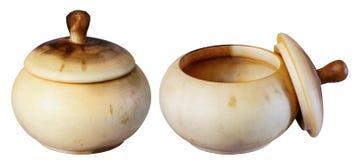 Pot en bois, Image libre de droits