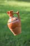 Pot en céramique traditionnel fabriqué à la main Images stock