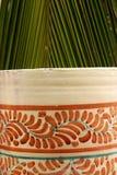Pot en palm Stock Foto's