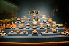 Pot exhibition Royalty Free Stock Photos