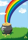 A pot of gold Stock Photos