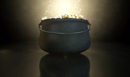 Pot Of Gold stock photos