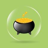 Pot gold Stock Photos