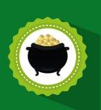 Pot gold Stock Photo