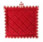 Pot holder lovely red Royalty Free Stock Images