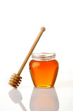 Pot of honey Royalty Free Stock Photo