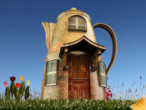 Pot house Stock Photography