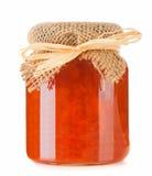 Pot of jam Stock Photo