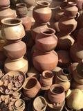 Pot making Stock Images