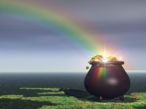Free Pot Of Gold Royalty Free Stock Photo - 2788445