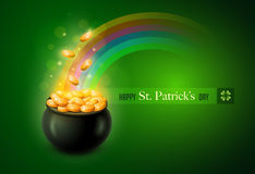 Free Pot Of Gold Royalty Free Stock Photos - 37847718