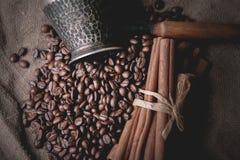 Pot oriental de café de vintage Images stock