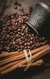 Pot oriental de café de vintage Photo stock