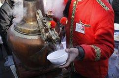 Pot in oud Peking Royalty-vrije Stock Foto's