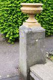 Pot on a pedestal Stock Images