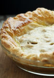 Pot Pie. Fresh golden home made chicken pot pie Royalty Free Stock Image