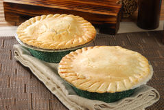 Pot pies Royalty Free Stock Image