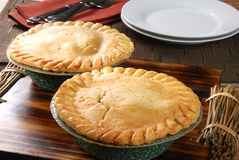 Pot pies cooling Stock Photography