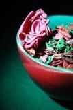 Pot Pourri. Beautiful Pot Pourri on a green surface stock image