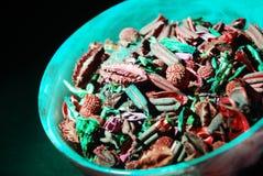 Pot Pourri. Close-up of a bowl of beautiful Pot Pourri stock photos