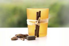 Pot pourri candle holder Stock Image