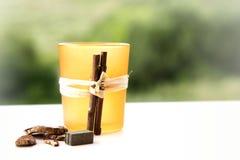 Pot pourri candle holder Royalty Free Stock Photo