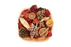 Pot-pourri de Noël Photo stock