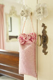 Pot Pourri Hanging On Door Handle Stock Photo