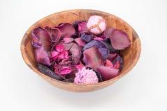 Free Pot Pourri In A Bowl Isolated Stock Photos - 55485753