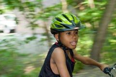 pot przejażdżkę na rowerze Obrazy Royalty Free