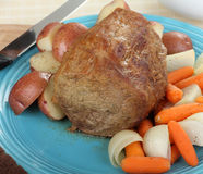 Pot Roast Dinner Stock Images