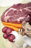 Pot Roast Dinner Preparation Stock Photography