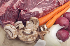 Pot Roast Dinner Preparation Royalty Free Stock Images