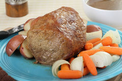 Pot Roast Meal Royalty Free Stock Images