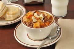 Pot roast soup Stock Image