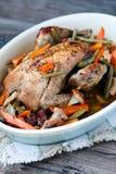 Pot-roasted фазан стоковое изображение rf